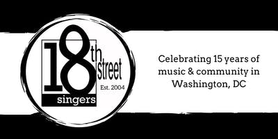 Save the Date: 18th Street Singers Winter Concert