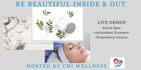 Be Beautiful Inside & Out: CHI Wellness and Reset Aging with Science tickets