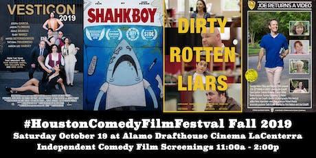 Houston Comedy Film Festival Fall 2019 tickets