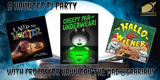 A Haunted PJ Party Story Time!