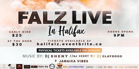 FALZ LIVE IN HALIFAX tickets