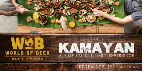 Kamayan! A Filipino Culinary Experience tickets