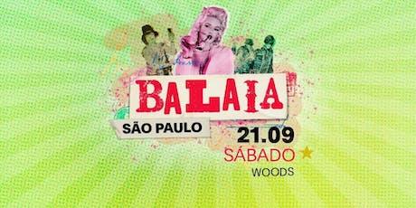 BALAIA SP - 21/09/19 ingressos