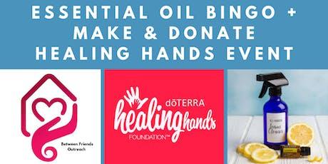 Essential Oil Bingo + Make & Donate tickets