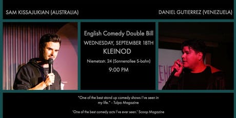 English Comedy Showcase - Sam Kissajukian & Daniel Gutierrez tickets