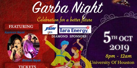Vibha BRC Garba Night 2019 tickets