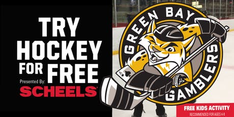 Try Hockey for Free with The Green Bay Gamblers - October 13th, 2019 tickets