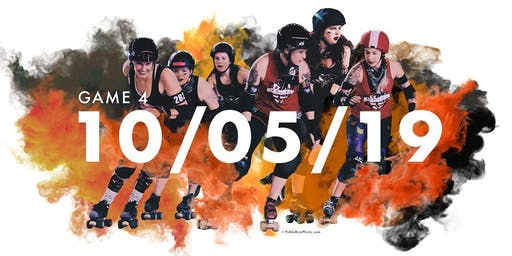 DCRG Game Four: DC Rollergirls Throwback Double Header