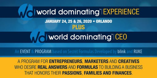 World Dominating Experience - Jan 2020