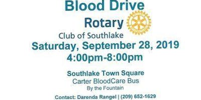 The Rotary Club of Southlake Hosting Blood Drive