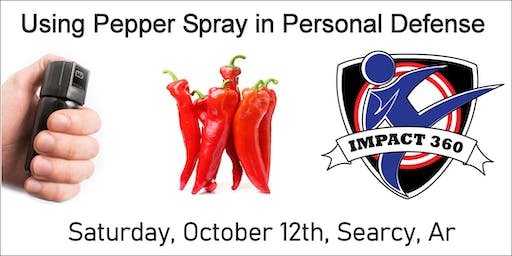 Using Pepper Spray in Personal Defense