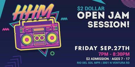 Hip Hop Mindset Open Jam Session tickets