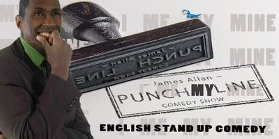 English Punch My Line Comedy Evening Show