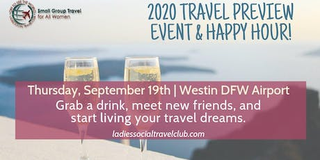 2020 Women's Travel Preview & Happy Hour tickets
