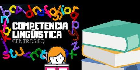 Taller de Competencia Lingüística en Centros EQ entradas