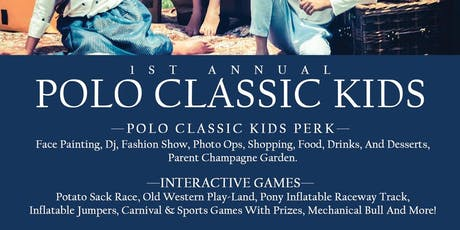 POLO Classic KIDS tickets