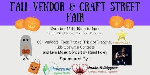 Fall Vendor & Craft Street Fair