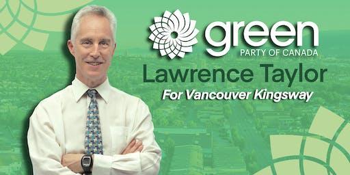 Vancouver Kingsway Campaign Kickoff