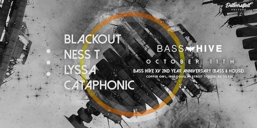 Bass Hive XV - 2nd year anniversary