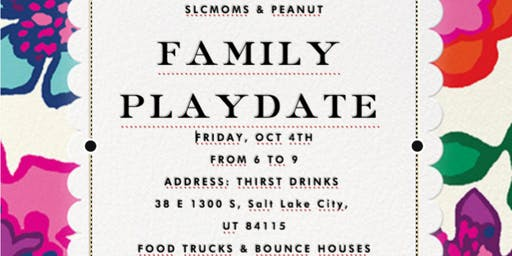 SLCMOMS & PEANUT FAMILY PLAYDATE