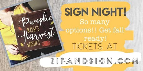 Sip and Sign Night @ The Ugly Duckling tickets