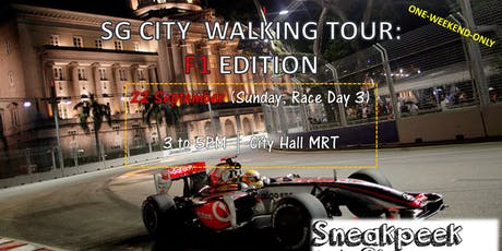 [F1 SPECIAL] Singapore City Tour : F1 Edition (22 Sep, Sunday) tickets