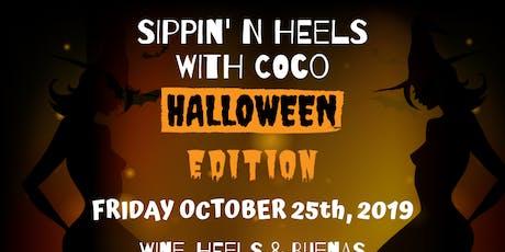 Sippin' N Heels-Halloween Edition tickets
