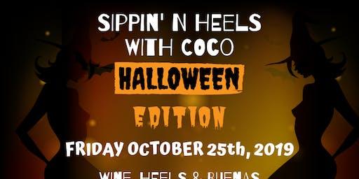 Sippin' N Heels-Halloween Edition