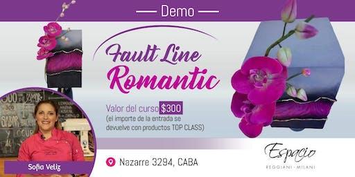 Demo FAULT LINE ROMANTIC con Sofía VELIZ