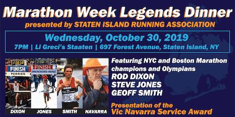 Marathon Week Legends Dinner presented by Staten Island Running Association tickets