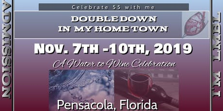 Double Down in My Home Town - 55 Birthday Celebration tickets