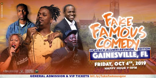 Fake Famous Comedy Tour (Gainesville-UFBAR2019)