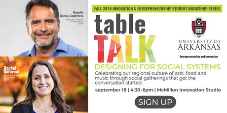 Table Talk +  Designing for Social Systems tickets