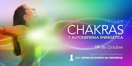 TALLER CHAKRAS Y AUTODEFENSA ENERGÉTICA entradas