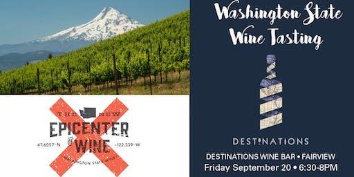 Washington State Wine Tasting