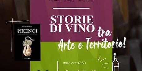 Storie di vino tra arte e territorio biglietti