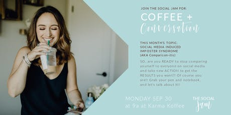 The Social Jam: Coffee + Conversation (September 30) tickets