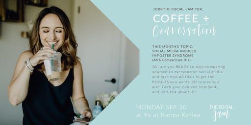 The Social Jam: Coffee + Conversation (September 30)