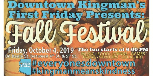 Downtown Kingman's First Friday Fall Festival