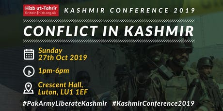 Kashmir Conference 2019 tickets