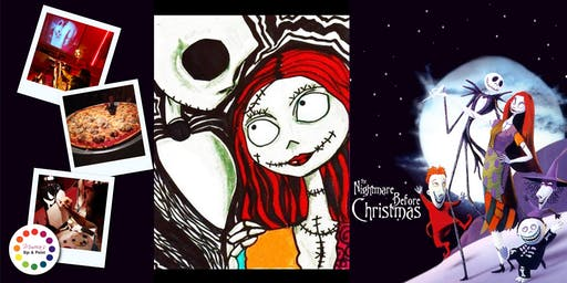 Museica's BYOB Dine & Paint Night - Nightmare Before Christmas! (Pizza & movie included!)
