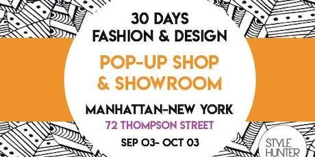 POP UP SHOP  FASHION & DESIGN tickets