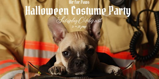 Air for Paws Halloween Costume Party