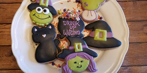 witches brew cookie class