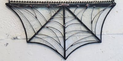 Make a Stained Glass Spiderweb