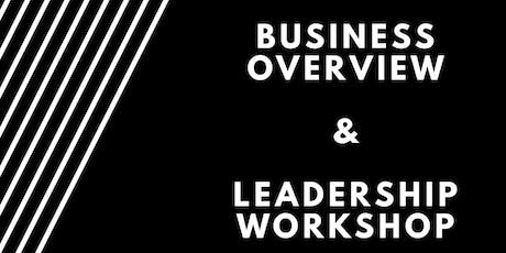 Business Overview & Leadership Conference tickets