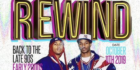 REWIND: BACK TO THE 90'S EARLY 2000'S tickets