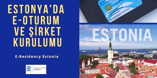 Estonya'da E-oturum almak  ve Şirket Kurmak