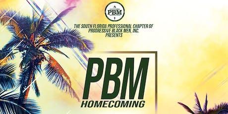 PBM Homecoming tickets