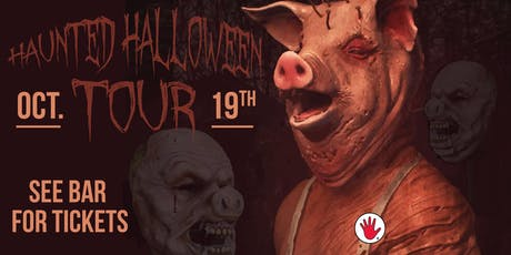Haunted Brewery Tour tickets